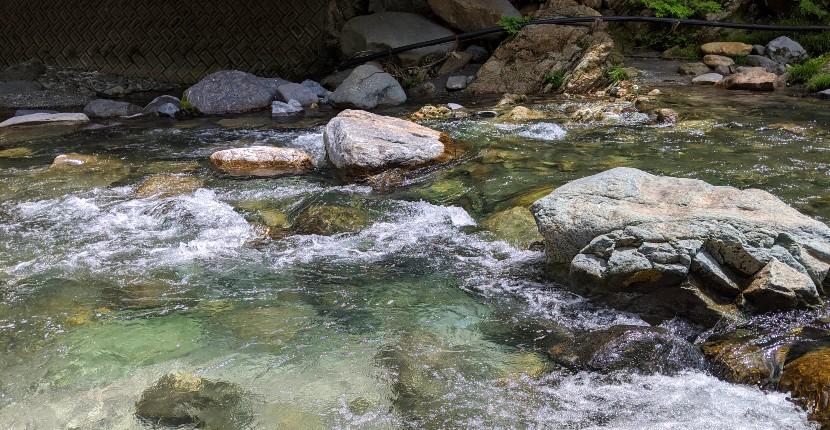 道志川の渓流釣り場を紹介。ルアーよりエサ釣りに分あり?