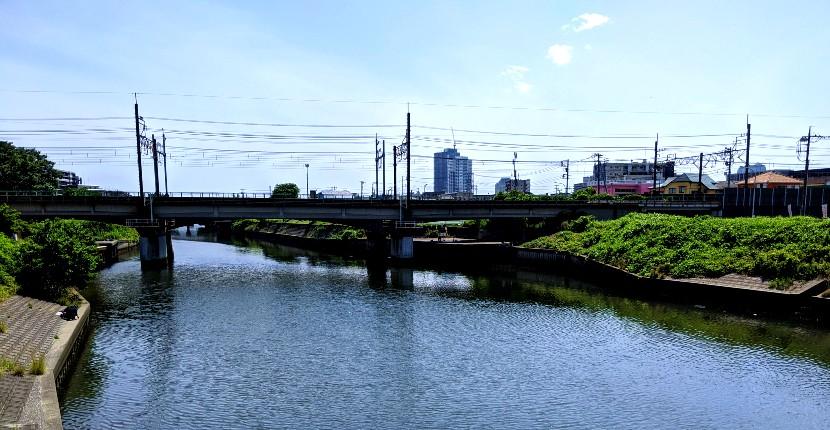 花見川の汐留橋でハゼ・テナガエビ釣り! ターゲットや釣りポイントを紹介